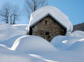 chalet hiver montagne