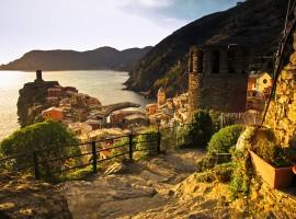 itinèraire à pied Cinque Terre