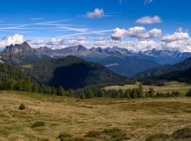route à pied en Trentino