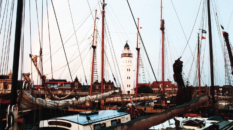 phare de harlingen pays bas