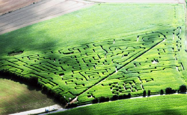 labyrinthe de Coutances