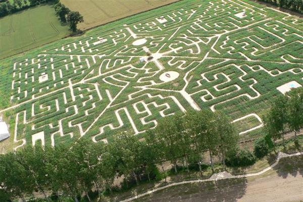 Le labyrinthe de Bayeux