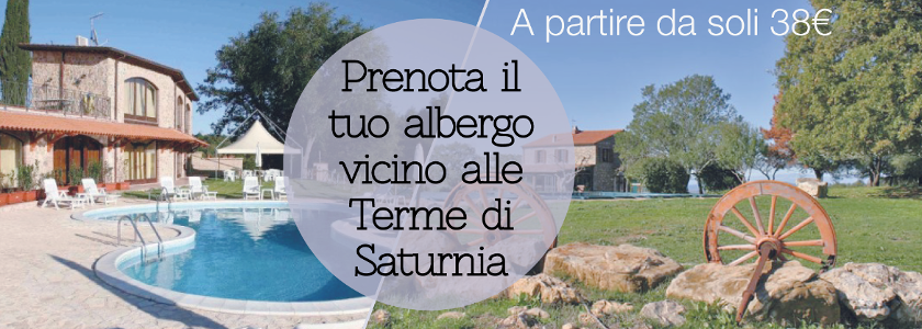 Trouvez votre ferme biologique, vos chambres d'hôtes ou un hôtel respectueux de l'environnement à proximité des Terme di Saturnia.