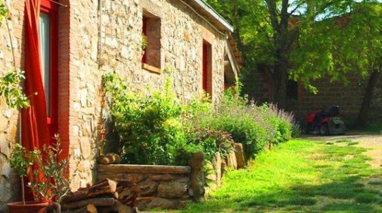 Bio-nourriture et nature dans les collines de Orvieto