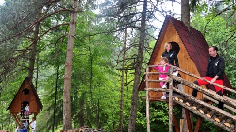 Votre cabane dans les arbres, dans les bois de Friuli Venezia Giulia