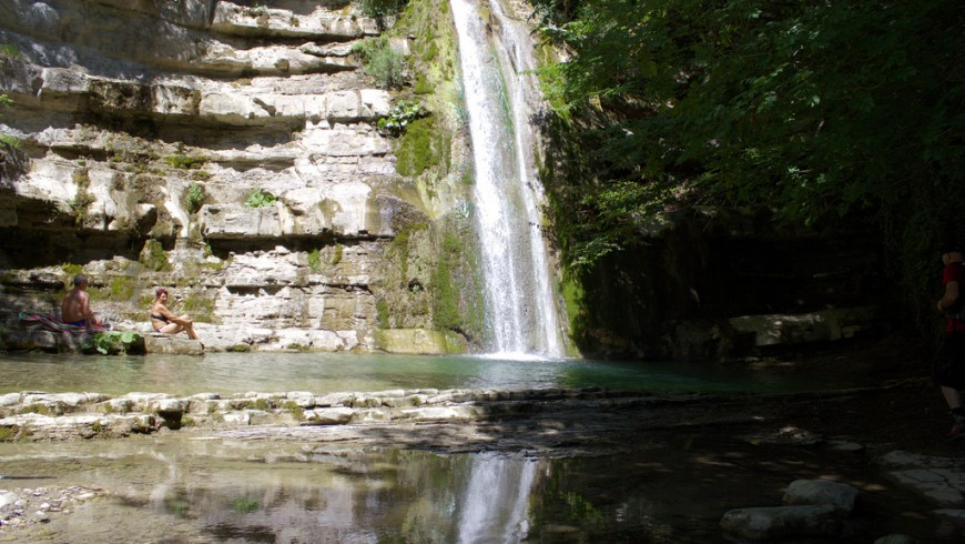 Cascade Acquacheta, photos de magostinelli, via flickr