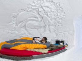 Igloo - Ici vous dormez entre la glace et la neige - hôtels les plus étranges du monde4