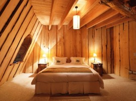 Ici vous dormez dans un ancien volcan - hôtels les plus étranges du monde