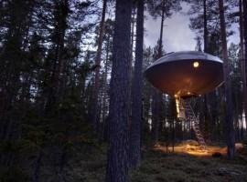 Ici vous vivez dans les arbres - hôtels les plus étranges du monde4