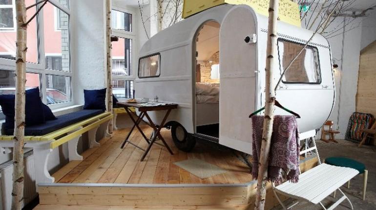 Caravan vintage - hôtels les plus étranges du monde