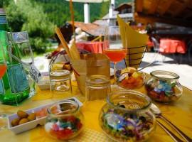 déjeuner bien-être altitude gran paradise