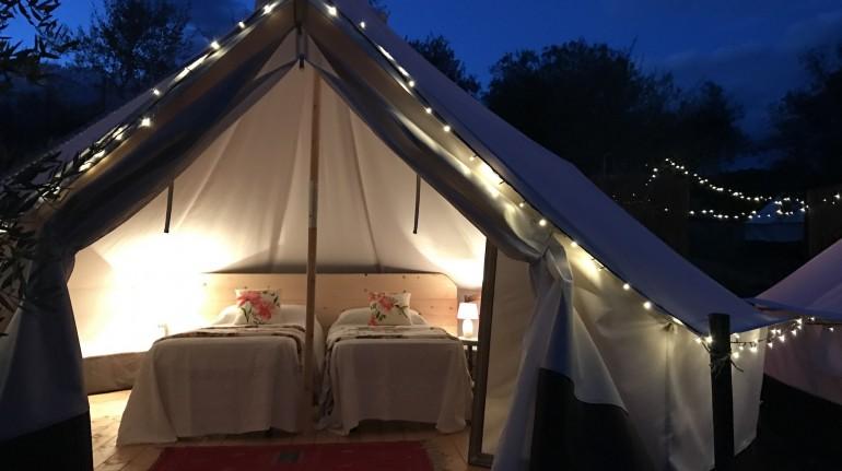Glamping Toscane: dormir dans une tente super chic