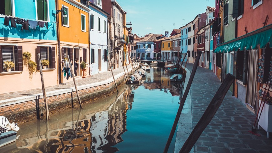 Île de Burano - photo de Chris Lawton sur Unsplash