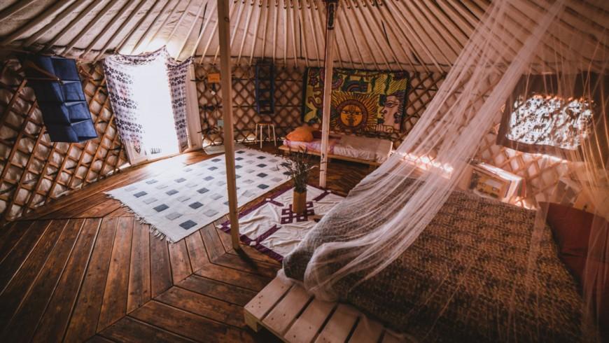 cadeau: Offrir une nuit dans une yurta