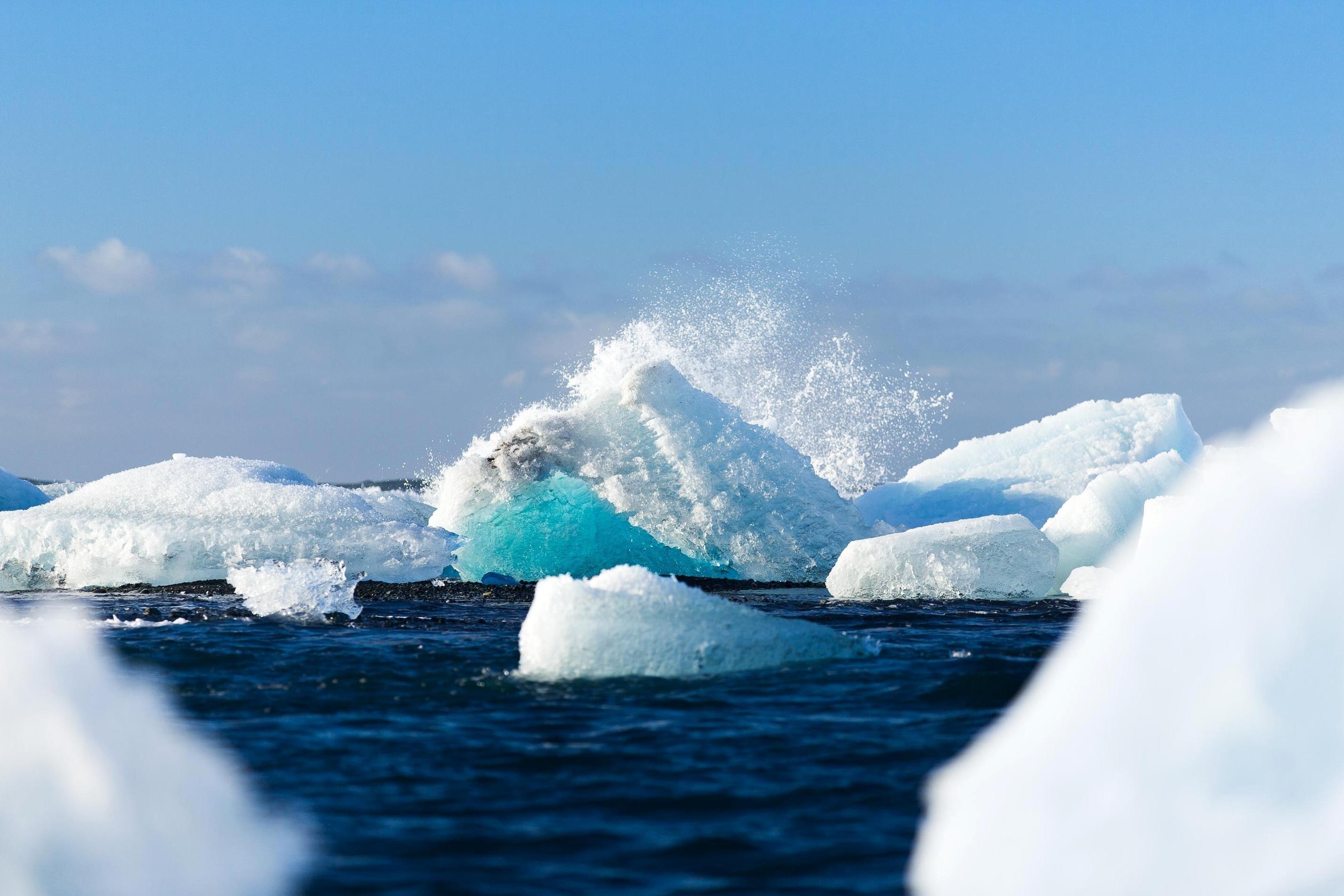 glacier arctique
