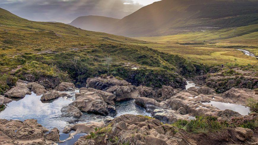 Les piscines des Fées de l'Ile de Skye, Ecosse