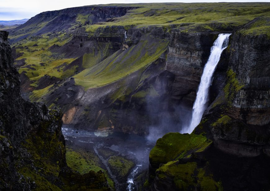 Hàifoss, Islande
