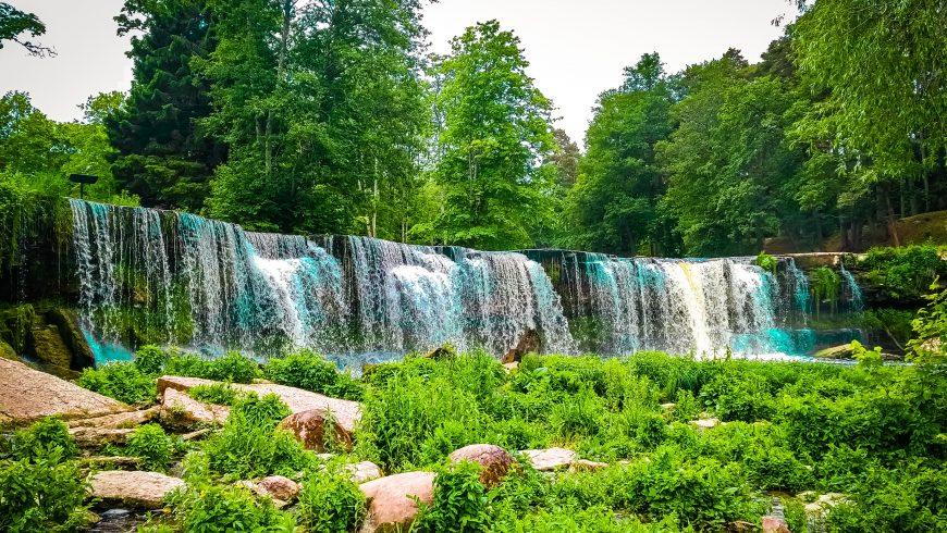 Cascades de Keila, Estonie