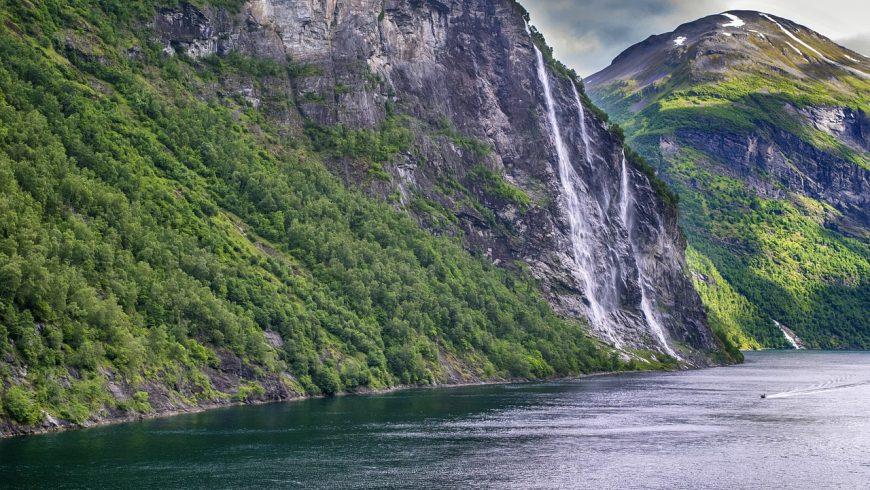 Cascade des Sept Soeurs (Sju Søstre), Norvège
