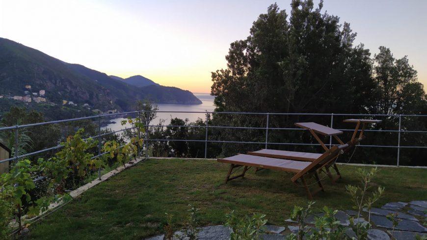 Un cottage écolo dans une station balnéaire en Ligurie