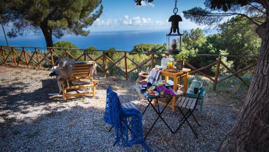 Un cottage écolo romantique en bord de mer
