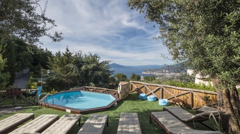 Une maison de vacances à Sorrente