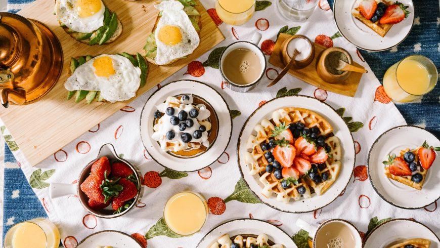 petit-déjeuner esthétique