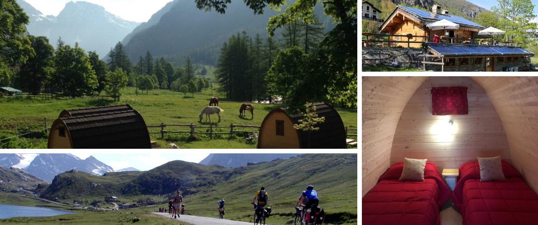 Eco-Camping Casa Bianca dans la perle alpine de Ceresole Reale
