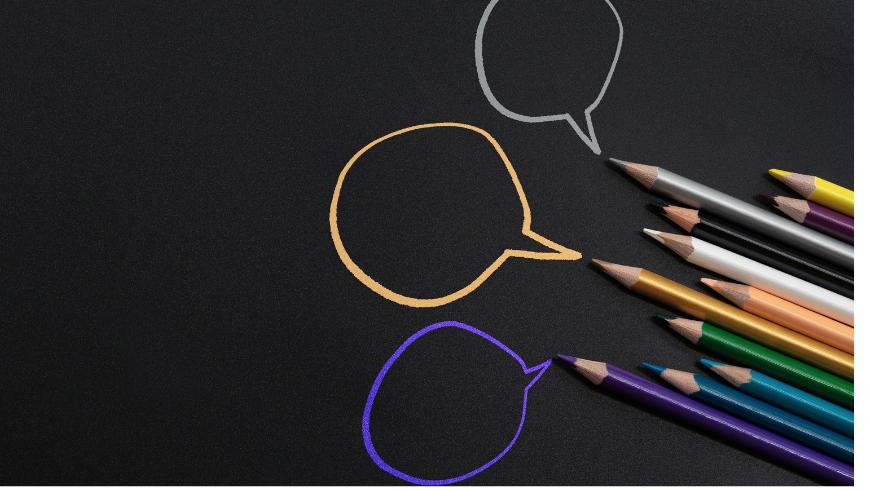 Dessin avec des crayons